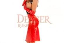 136D Bra / 108B Shoulder Gloves / 185 Skirt