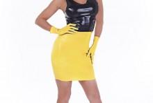 Mini Skirt Code 184 In Yellow