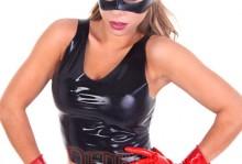 421 Cat Mask / 113A Vest / 108A Gloves / 184 Skirt