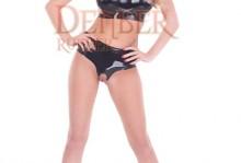 103A Bra / 182A Open Crotch Posing Briefs
