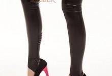 Stockings Open Toe 120O Black